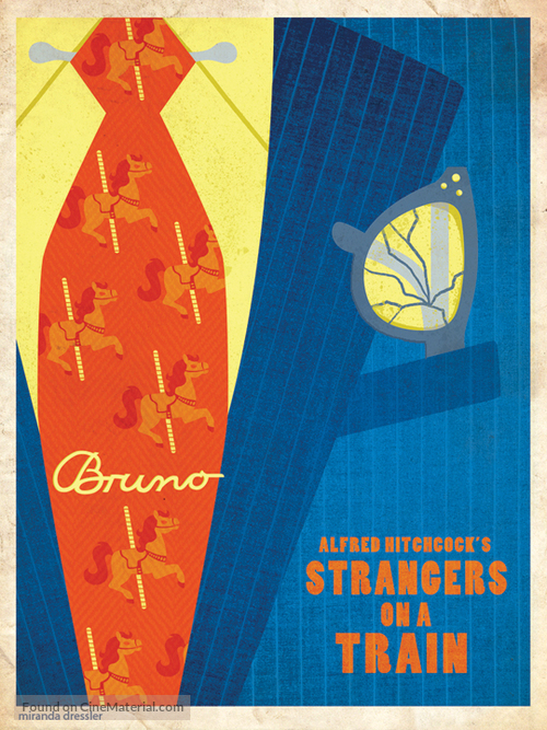 Strangers on a Train - Movie Poster
