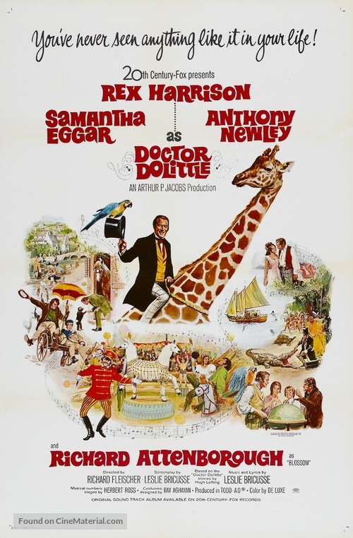 Doctor Dolittle - Movie Poster