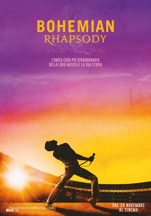 Bohemian Rhapsody - Italian Movie Poster