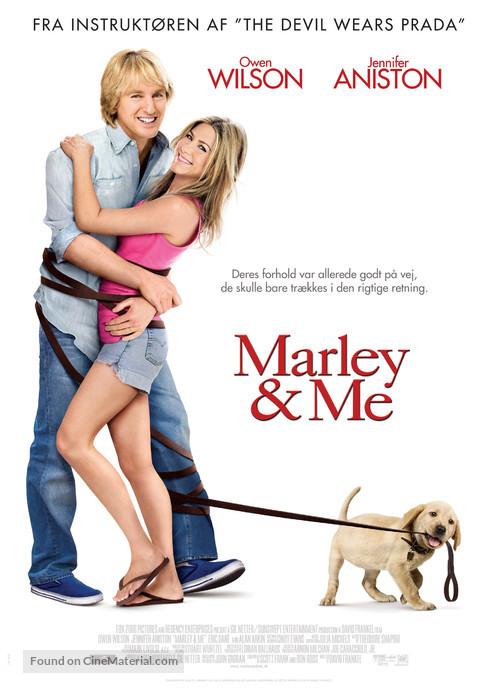 Marley & Me - Danish Movie Poster