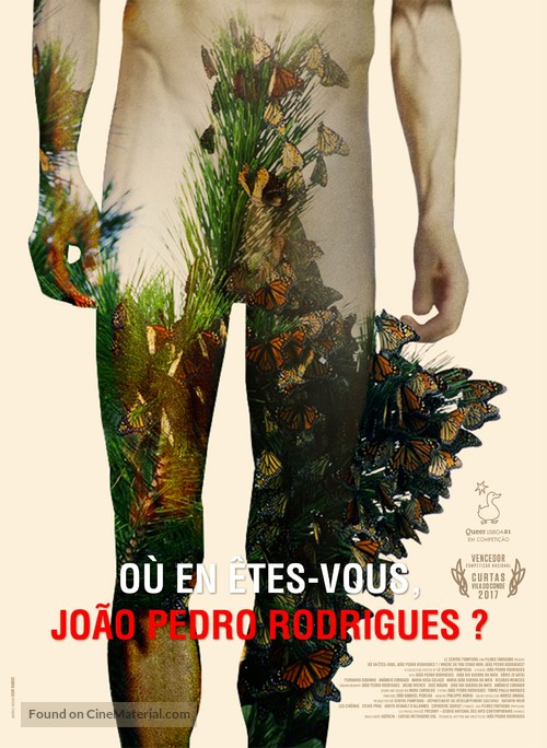 Where Do You Stand Now, Joao Pedro Rodrigues - Portuguese Movie Poster