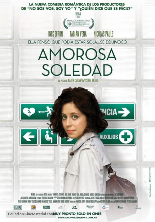 Amorosa soledad - Argentinian Movie Poster