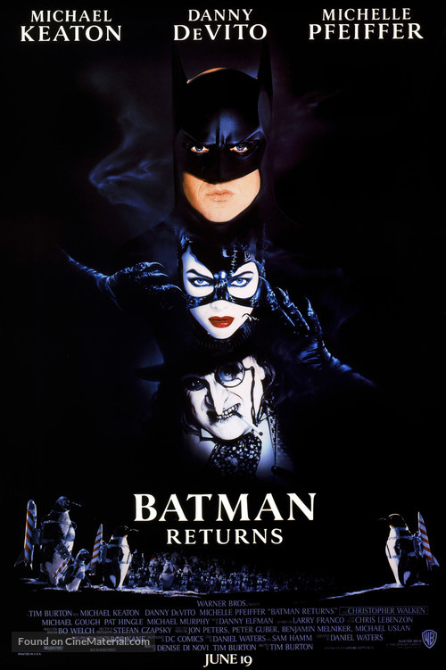 Batman Returns - Movie Poster