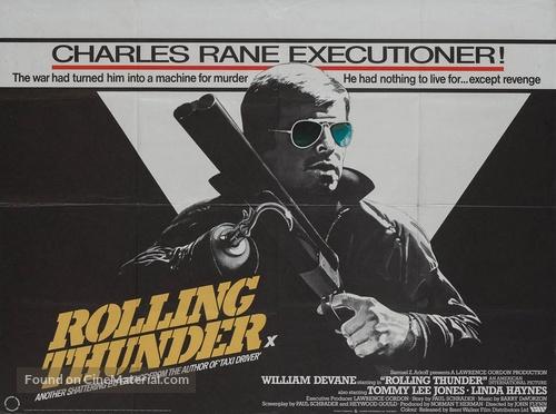 Rolling Thunder - British Movie Poster