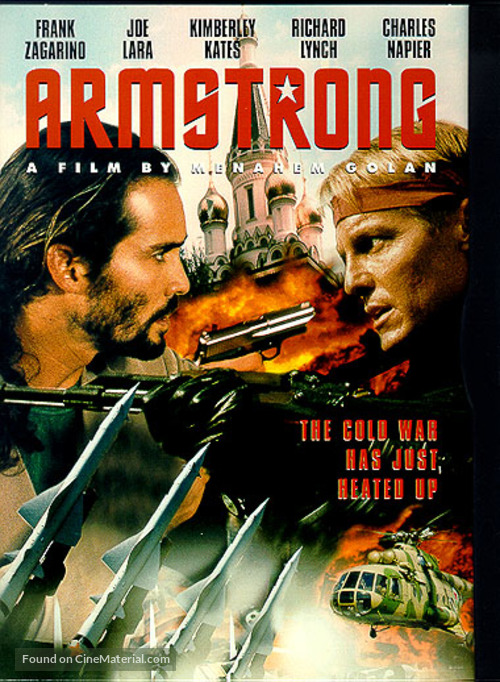 Armstrong - DVD movie cover