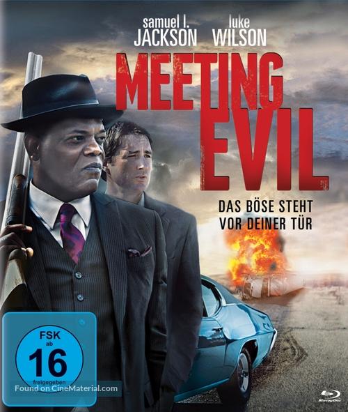 Meeting Evil - German Blu-Ray movie cover