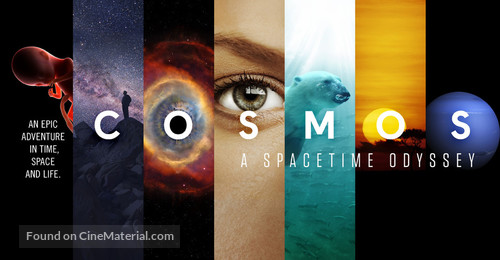 """""""Cosmos: A SpaceTime Odyssey"""" - Movie Poster"""