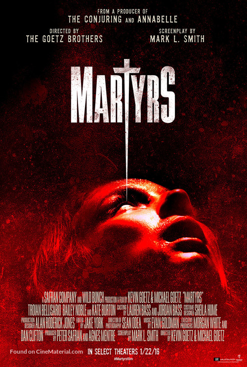 Martyrs - Movie Poster