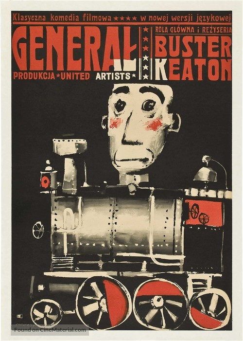 The General - Polish Movie Poster