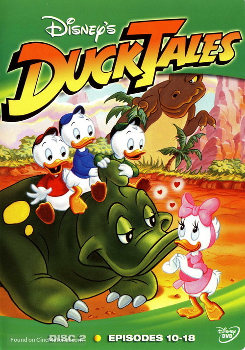 """""""DuckTales"""" - DVD movie cover"""