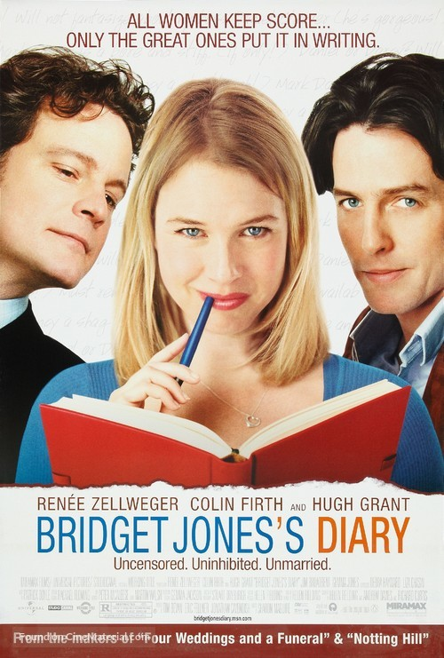 Bridget Jones's Diary - Movie Poster