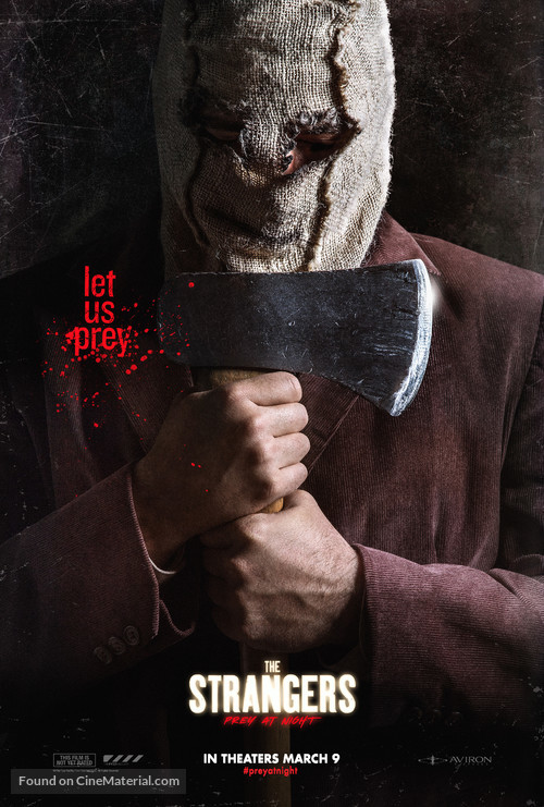 the strangers prey at night movie poster