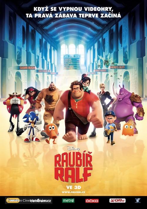 Wreck-It Ralph - Czech Movie Poster