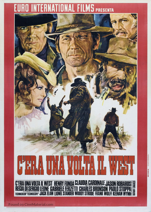 C'era una volta il West - Italian Movie Poster