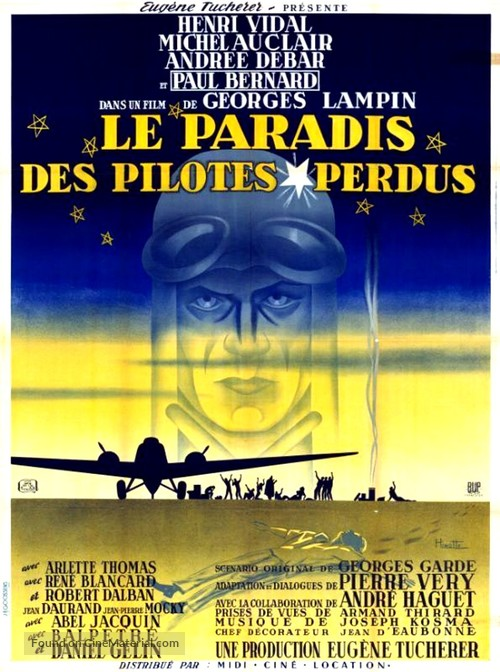 Le paradis des pilotes perdus - French Movie Poster