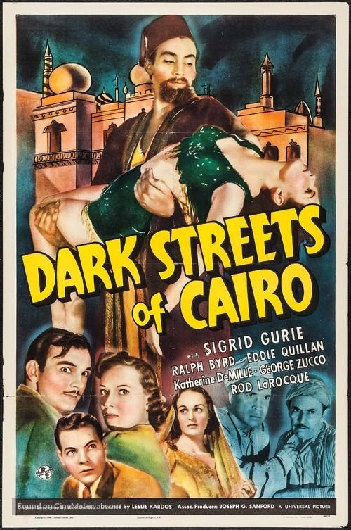 Dark Streets of Cairo - Movie Poster