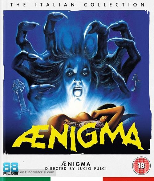 Aenigma - British Blu-Ray movie cover
