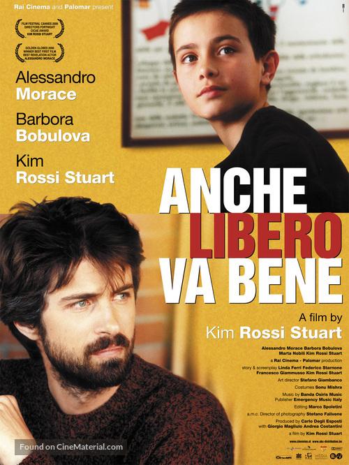 Anche libero va bene - Dutch Movie Poster