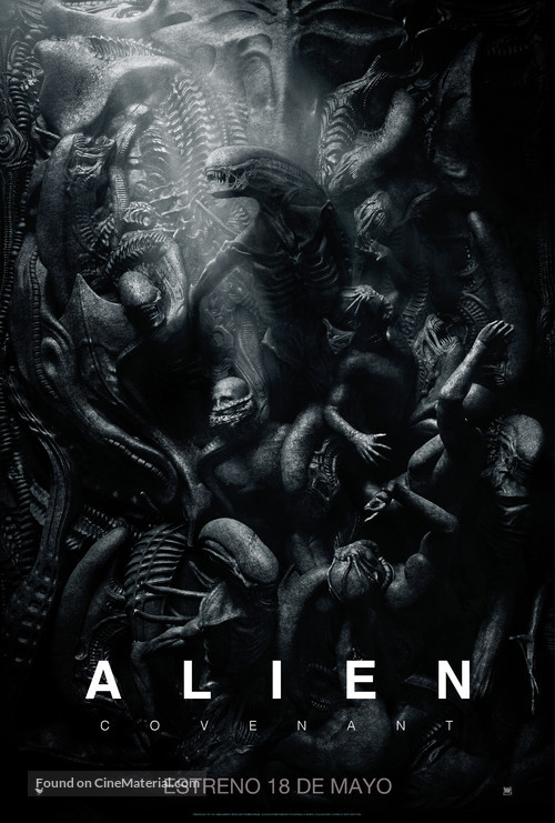 Alien: Covenant - Chilean Movie Poster