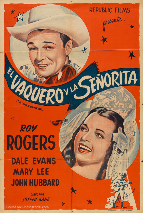 Cowboy and the Senorita - Argentinian Movie Poster