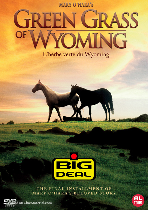 Green Grass of Wyoming - Dutch Movie Cover