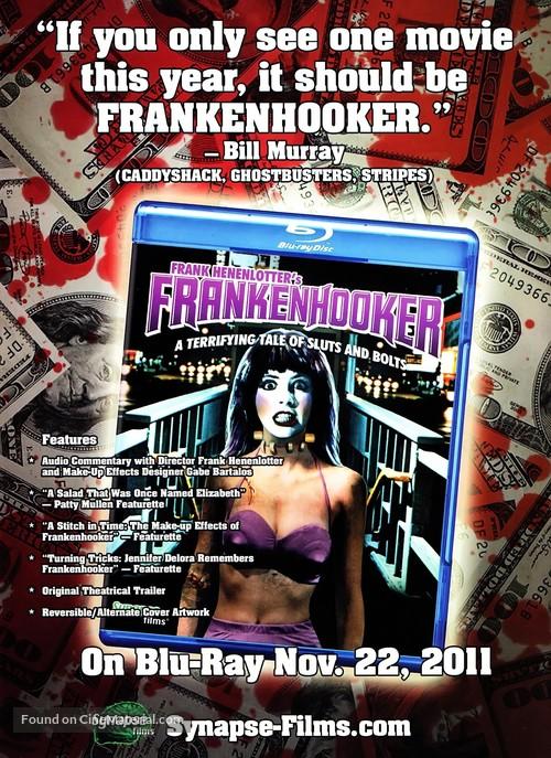Frankenhooker - Video release movie poster