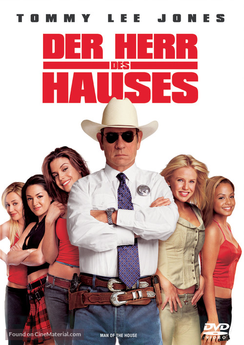 Man Of The House - German Movie Cover