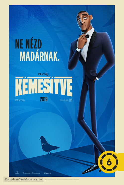 Spies in Disguise - Hungarian Movie Poster