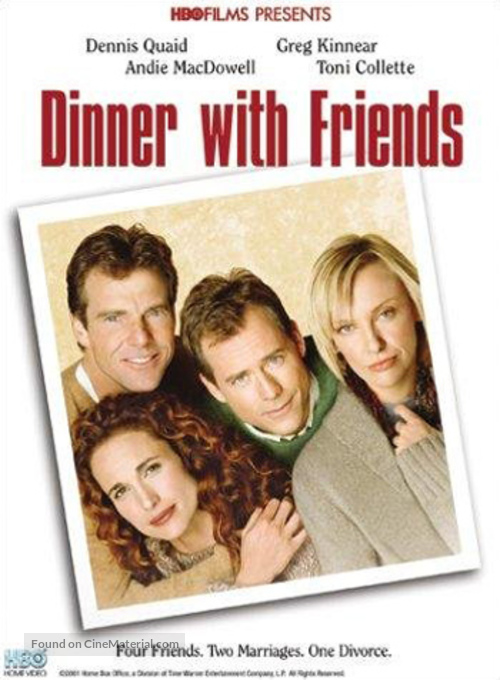 Dinner with Friends - DVD movie cover