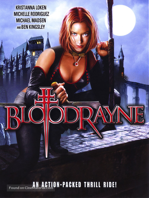 Bloodrayne - DVD movie cover