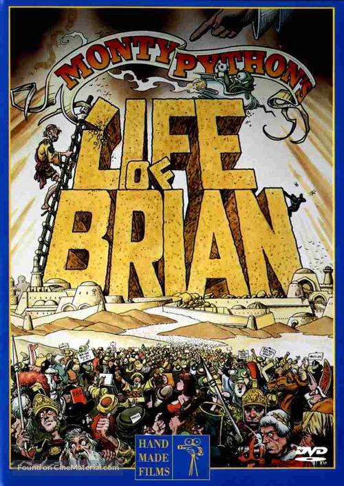 Life Of Brian - DVD movie cover