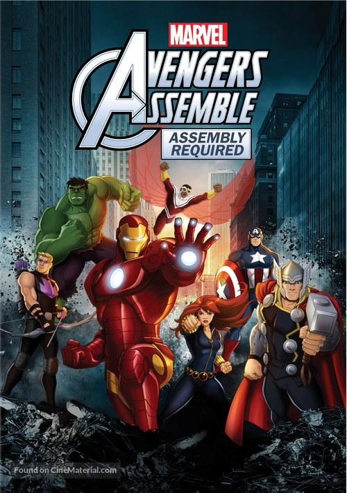 """Avengers Assemble"" - DVD movie cover"