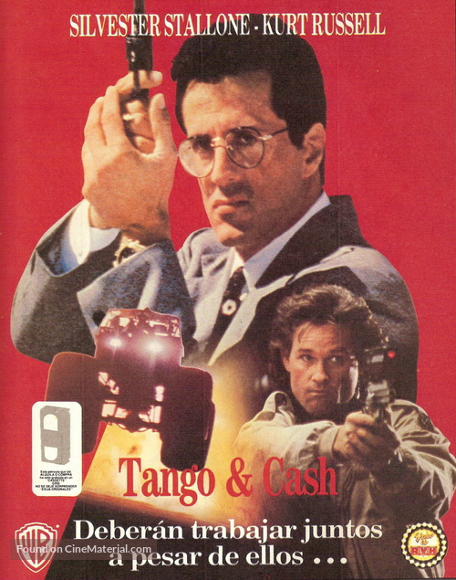 Tango And Cash - Argentinian poster