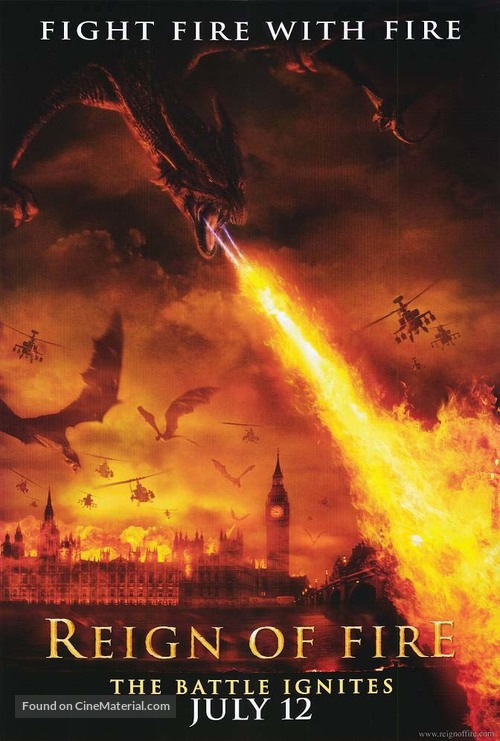 Reign of Fire - Movie Poster