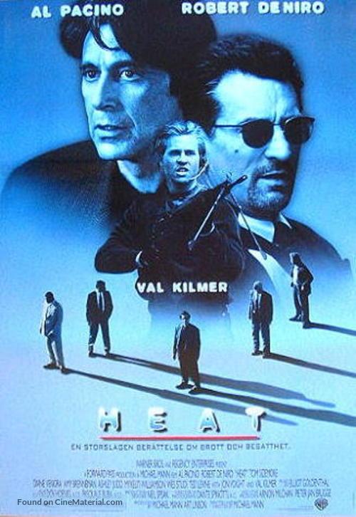 Heat - Swedish Movie Poster