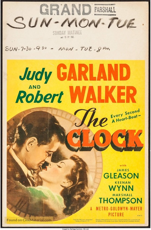 The Clock - Movie Poster