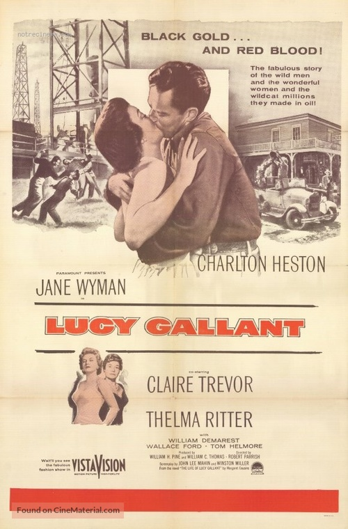 Lucy Gallant - Movie Poster