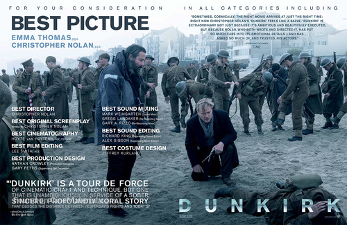 Dunkirk - For your consideration movie poster