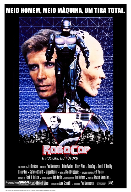 RoboCop - Brazilian Movie Poster