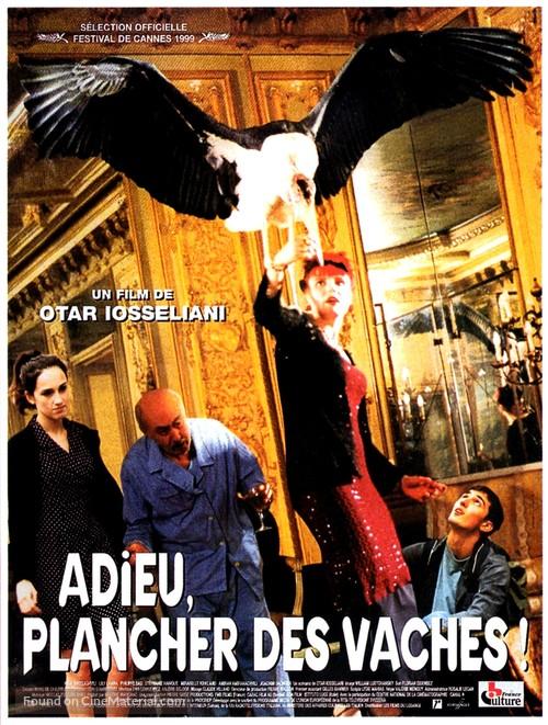 Adieu, plancher des vaches! - French Movie Poster