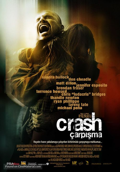 Crash - Turkish Movie Poster