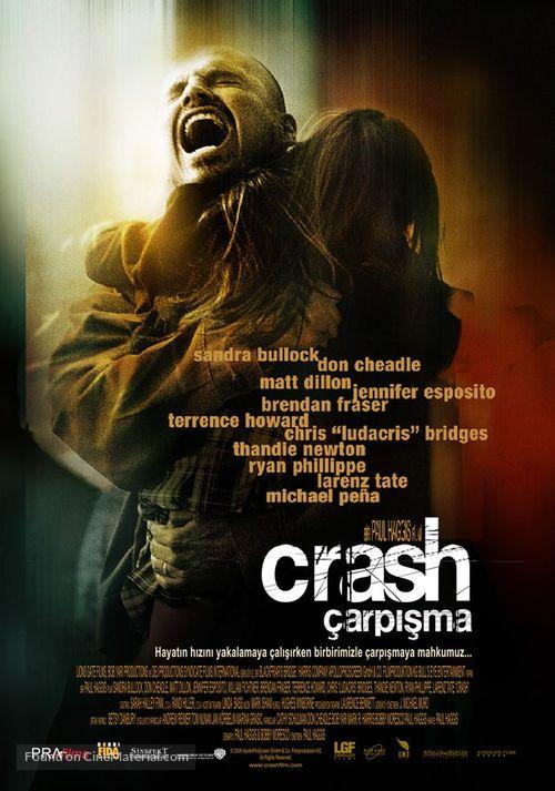 Crash - Turkish Movie Poster
