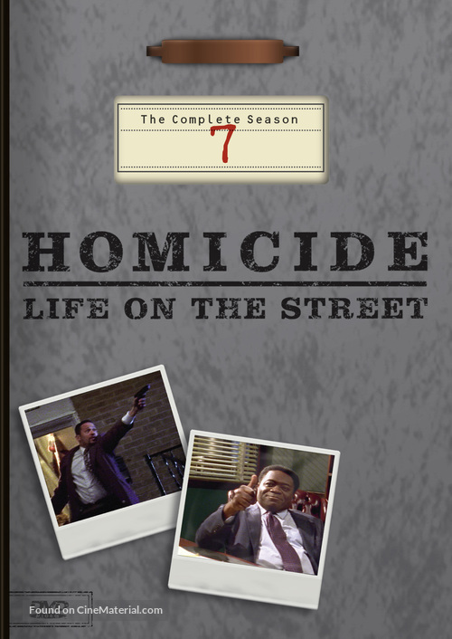 """""""Homicide: Life on the Street"""" - DVD movie cover"""