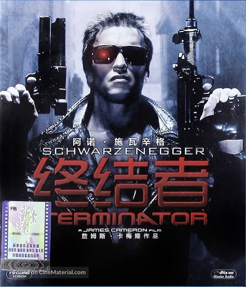 The Terminator - Chinese Movie Cover