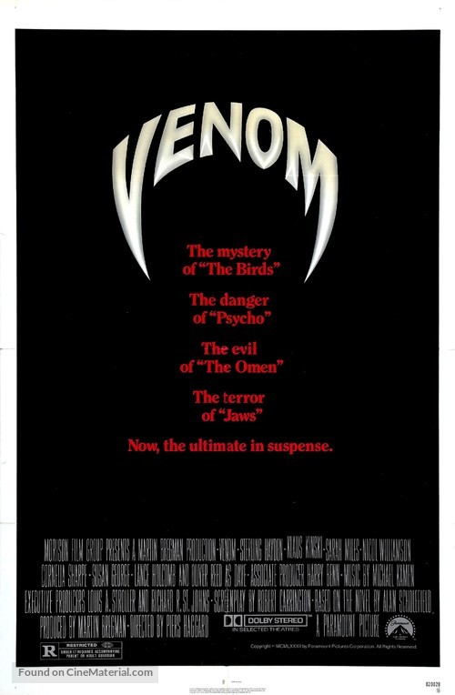 Venom - Movie Poster