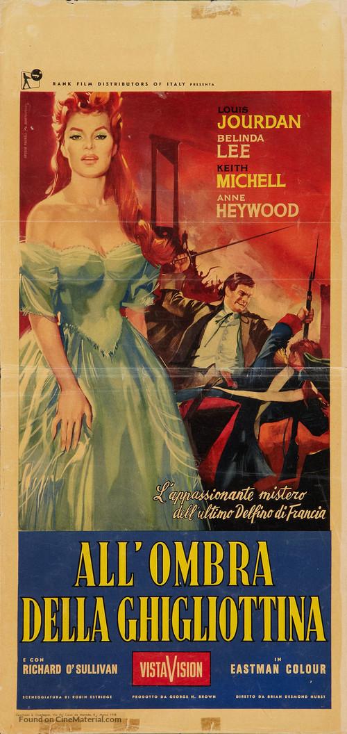 Dangerous Exile - Italian Movie Poster