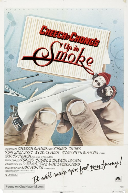 Up in Smoke - Movie Poster