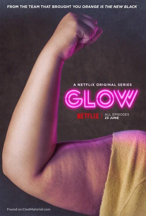 """GLOW"" - British Movie Poster"