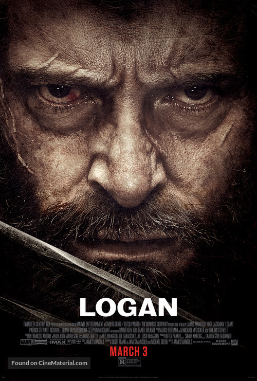Logan - Theatrical movie poster