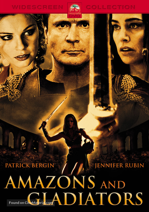 Amazons and Gladiators - German DVD movie cover